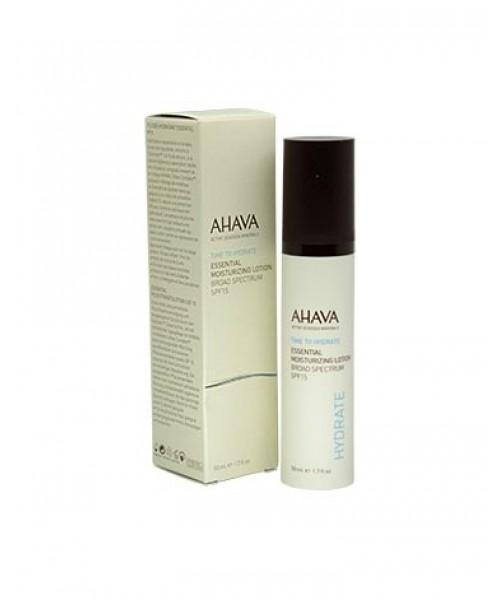 AHAVA Essential Moisturizing Lotion with SPF 15