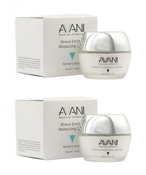 2 AVANI Mineral Enriched Moisturizing Cream - Bundle