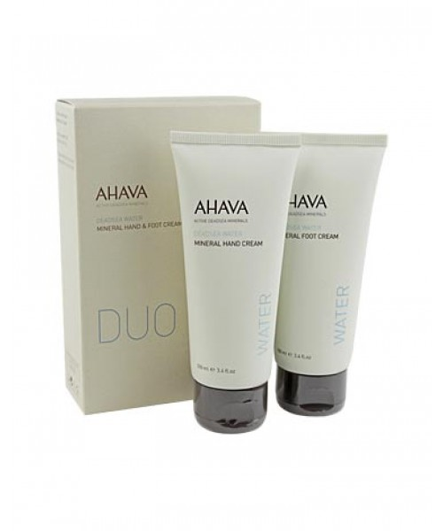 AHAVA Mineral Hand & Foot Cream Duo