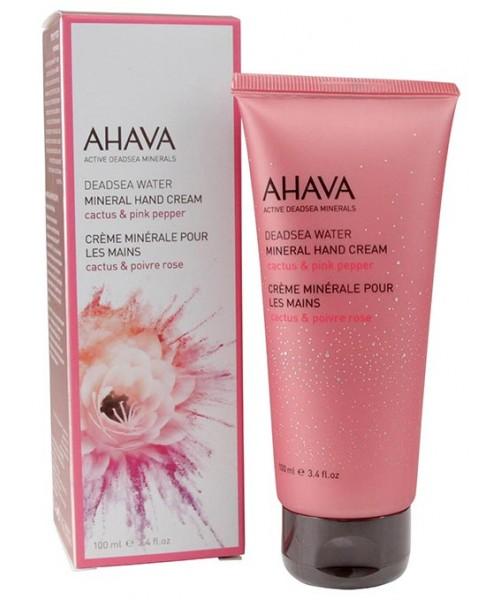 AHAVA Mineral Hand Cream – Cactus & Pink Pepper