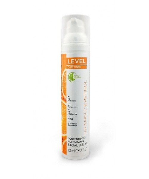 LEVEL C-RETINOL Concentrated Multivitamin Facial Serum 100ml