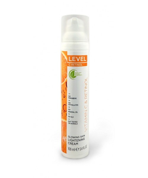 LEVEL C-RETINOL Glowing Skin Lightening Cream 100ml