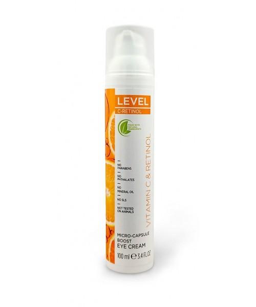 LEVEL C-RETINOL Micro-Capsule Boost Eye Cream 100ml