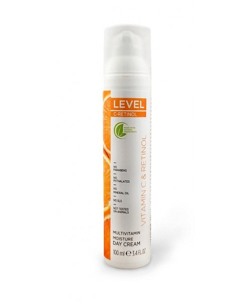 LEVEL C-RETINOL Multivitamin Moisture Day Cream 100ml