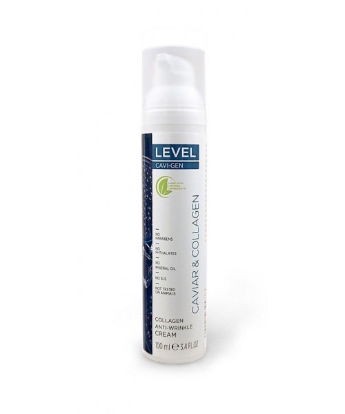 LEVEL CAVI-GEN Collagen Anti-Wrinkle Cream 100ml