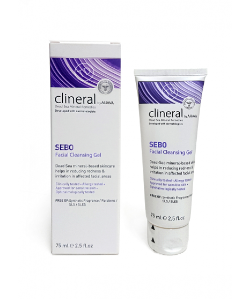 Clineral by AHAVA- SEBO Facial Cleansing Gel