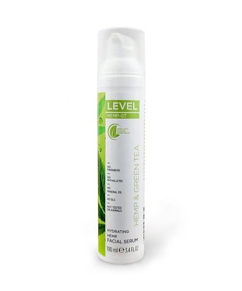 LEVEL HEMP-GT Hydrating Hemp Facial Serum 100 ml