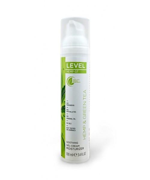 LEVEL HEMP-GT Soothing Gel-Cream Moisturizer 100 ml
