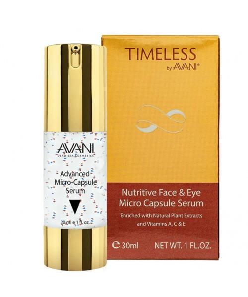 Timeless by AVANI Nutritive Face & Eye Micro Capsule Serum