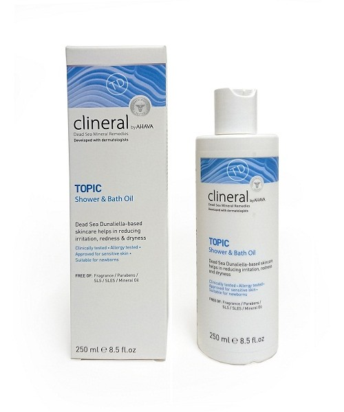 Clineral by AHAVA- TOPIC Shower & Bath Oil