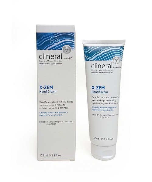 Clineral by AHAVA- X-ZEM Hand Cream